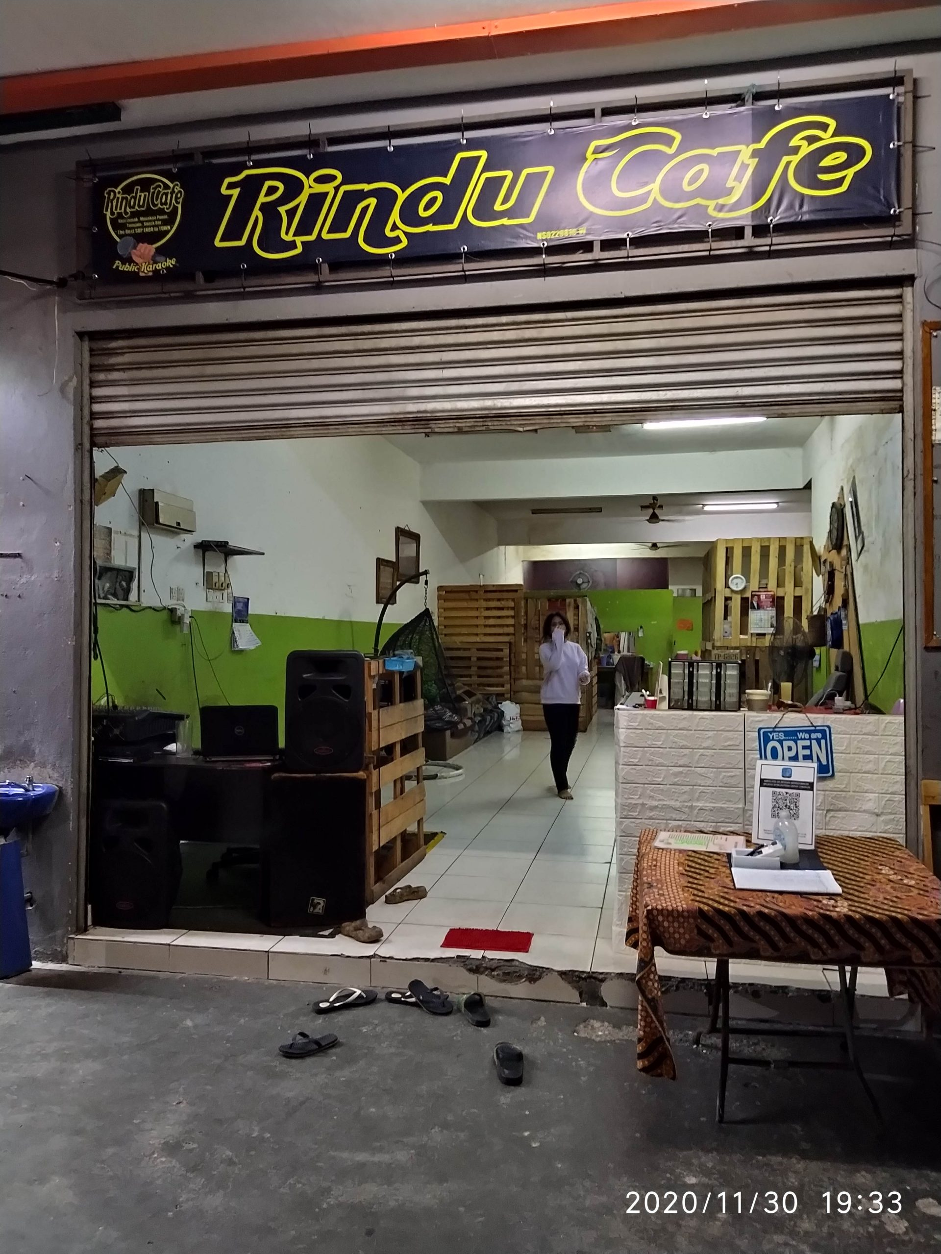 Rindu Cafe PD Sunggala Gateway